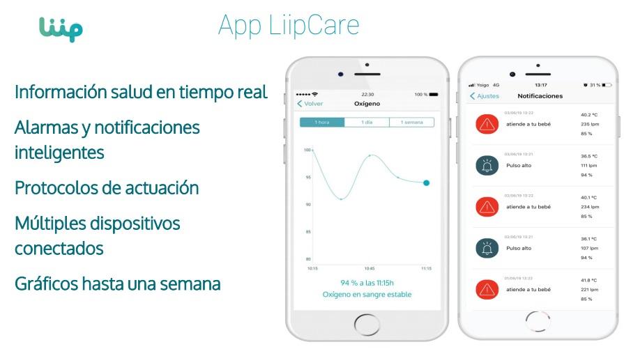 Pulsera inteligente Liip Smart Monitor Sueños de bebé