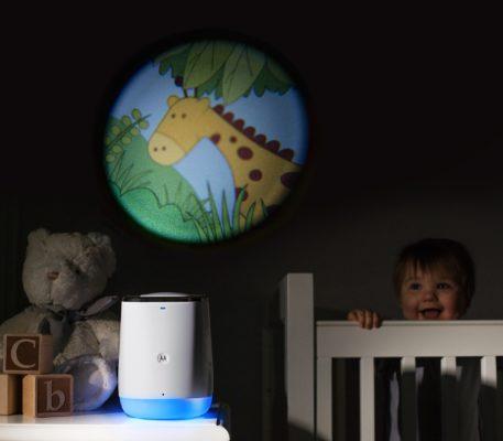 maquina del sueño vigilabebes dream machine motorola smart nursery