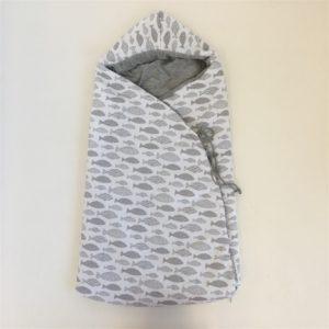 Saco Entretiempo para Capazo Oceano Gris de Nora Baby Bags